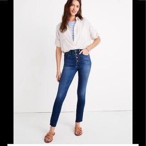Madewell highrise skinny jean 29